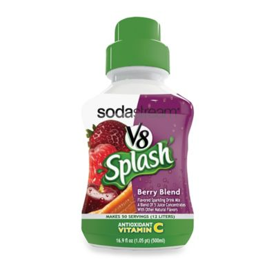 Sodastream™ V8 Splash Berry Blend Drink Concentrate