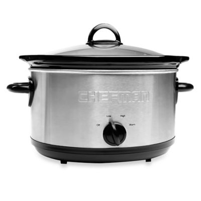 Chefman® 6 qt. Round Slow Cooker