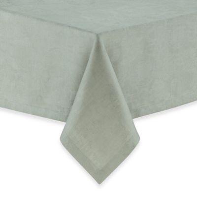 Garnier-Thiebaut Mille Datcha Brise 69-Inch Round Linen Tablecloth