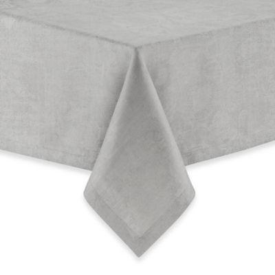 Garnier-Thiebaut Mille Datcha Nacre 68-Inch x 11-Inch Linen Tablecloth