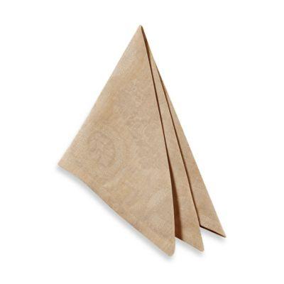 Garnier-Thiebaut Mille Datcha Nacre Linen Napkin (Set of 4)