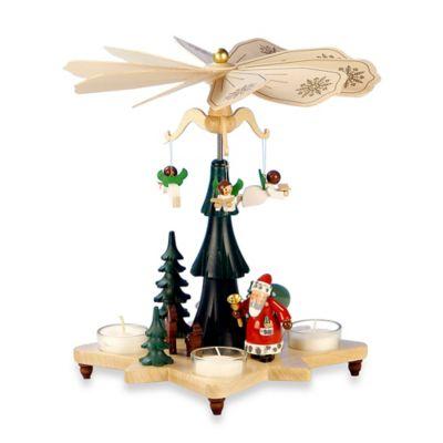 Christian Ulbricht Santa with Angels Pyramid