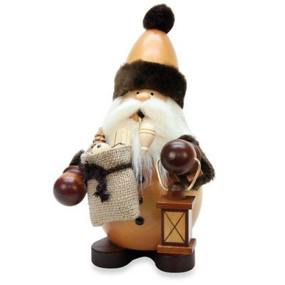 Christian Ulbricht Santa Incense Burner in Natural Finish