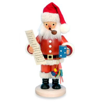 Christian Ulbricht Santa with List Incense Burner