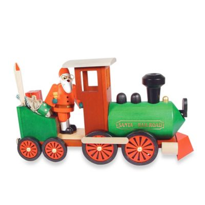 Richard Glaesser Santa in Train Incense Burner