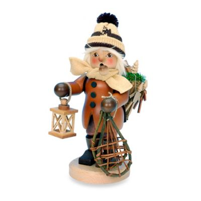 Christian Ulbricht Boy with Snowshoes Incense Burner