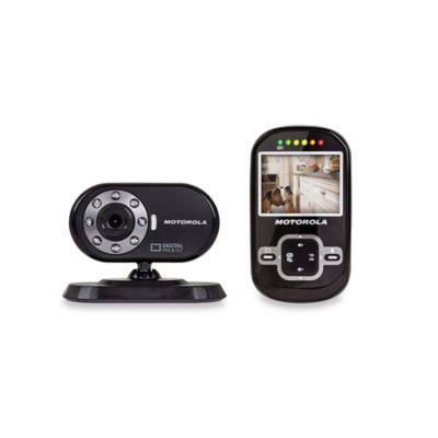 Motorola® Scout 600 Digital Wireless Video Pet Monitor with 2.4-Inch Diagonal Color Screen