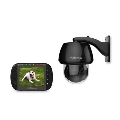 Motorola® Scout 1100 Digital Wireless Outdoor Video Pet Monitor w/3.5-Inch Diagonal Color Screen