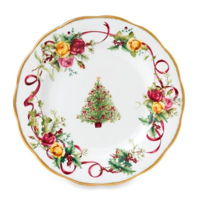 Christmas Tree Salad Plate