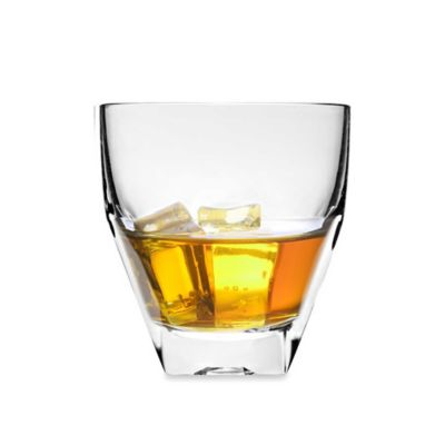 Lorren Home Trends Diamonte Double Old Fashioned Glass (Set of 6)