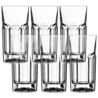 Lorren Home Trends Provenza Highball Glass (Set of 6)