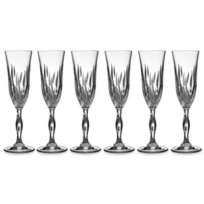 Lorren Home Trends Fire Toasting Flutes (Set of 6)