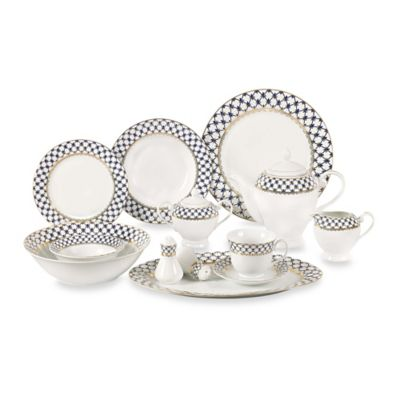 Lorren Home Trends Tula 57-Piece Dinnerware Set