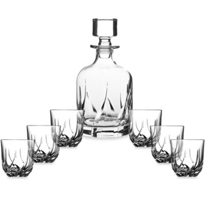 Lorren Home Trends Trix 7-Piece Whiskey Set