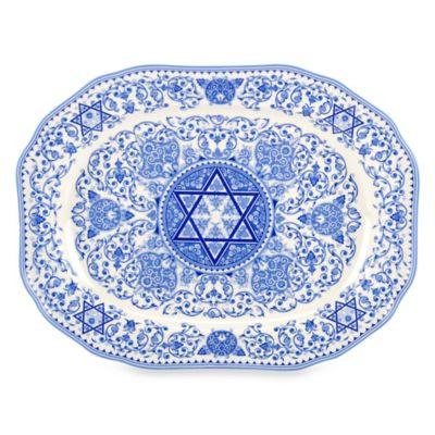 Spode® Judaica Oval Platter