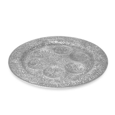 Simplydesignz Judaica Collection 12.5-Inch Seder Plate