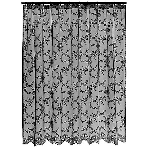 Black Lace Curtains Cheap Blues Brothers Shower Curtain