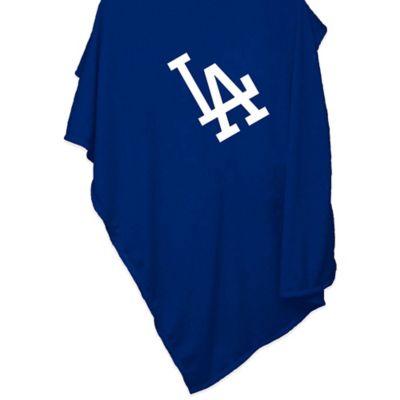 MLB Los Angeles Dodgers Sweatshirt Blanket