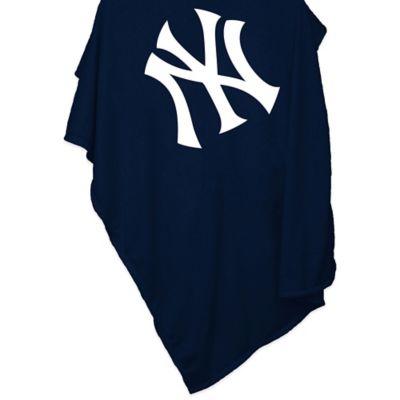 MLB New York Yankees Sweatshirt Blanket