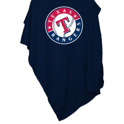 MLB Texas Rangers Sweatshirt Blanket