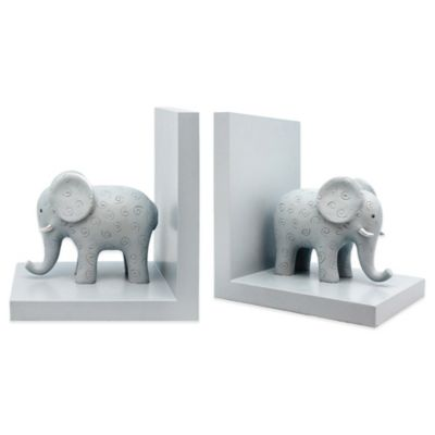 Argento Safari Bookends in Blue (Set of 2)