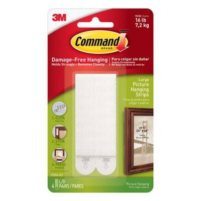 3M Command™ 4-Pack Large Picture Hanging Strips