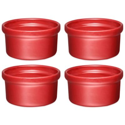 Emile Henry Ramekin in Burgundy (Set of 4)