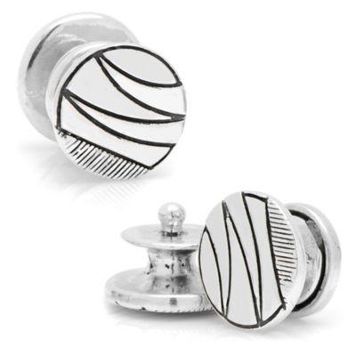 Sterling Silver Vintage Wave Cufflinks