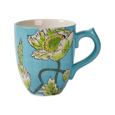 Tabletops Unlimited® Gallery Sonia Mug in Turquoise