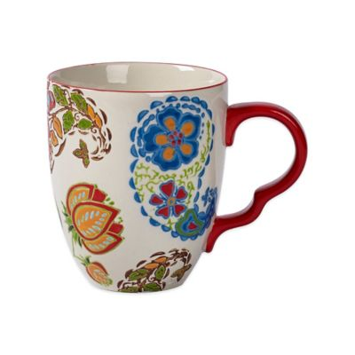 Tabletops Unlimited® Gallery Robin Mug in Red