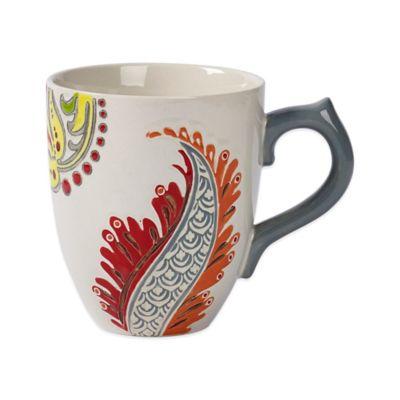 Tabletops Unlimited® Gallery Phoebe Mug in Grey