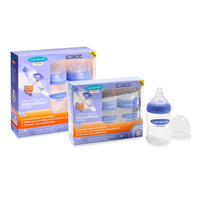 Lansinoh® Momma® 3-Pack 5 oz. Bottle with NaturalWave™ Nipple