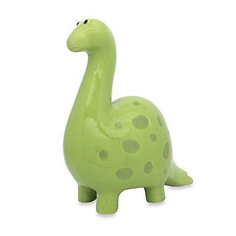 Argento ankylosaurus piggy bank bed bath beyond - Dinosaur piggy banks ...