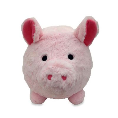 Plush Piggy Bank in Pink