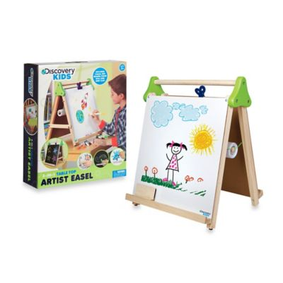 Discovery Kids™ Wooden 3-in-1 Tabletop Easel