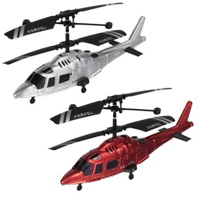 Coast Guard™ Micro Wireless Indoor Helicopter in Silver