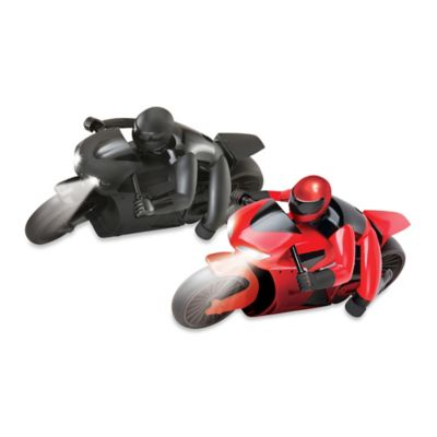 Remote Controlled Racing Motorcycle in Red