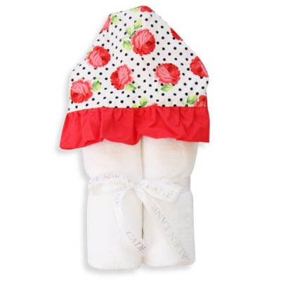 Caden Lane® Lily's Rose Hooded Towel