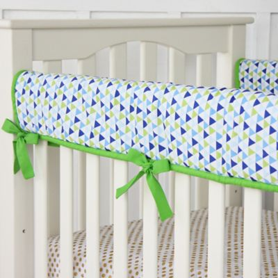 Navy Bed Rail Cover