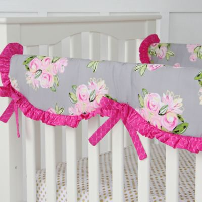 Caden Lane® Vintage Floral Crib Rail Cover