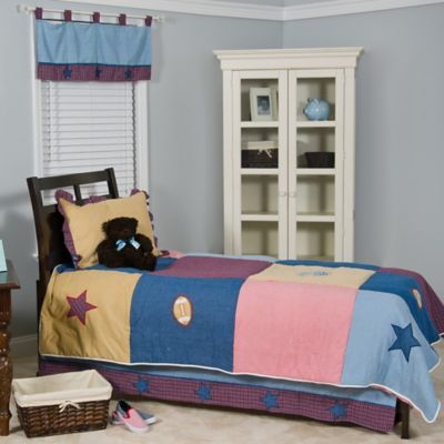 3-Piece Blue Bedding Set