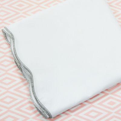 Dove Grey/Pink Baby Bedding