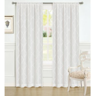 Laura Ashley® 84-Inch Windsor Window Panels in Taupe