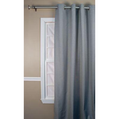 Landis 63-Inch Window Curtain Panel in Black