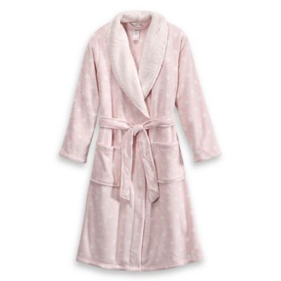 Ultra Plush Size Large/Extra Large Dream Bathrobe in Pink
