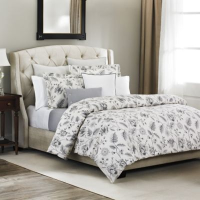 Bellora® Bianca Full/Queen Duvet Cover in Pebble