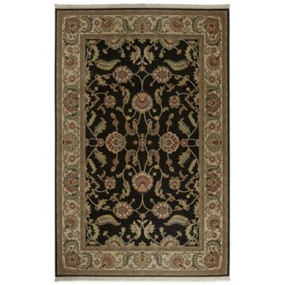 Karastan Ashara Agra 10-Foot x 14-Foot Rug in Black