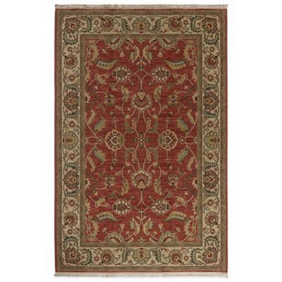 Karastan Ashara Agra 10-Foot x 14-Foot Rug in Red