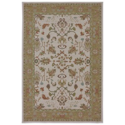 Karastan Bellingham Cornwall 5-Foot 3-Inch x 8-Foot 3-Inch Rug in Cream