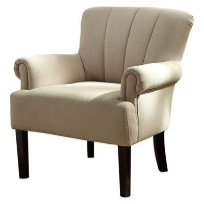 Verona Home Kristy Arm Chair in Almond
